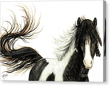 Majestic Horse Series #76 Canvas Print by AmyLyn Bihrle