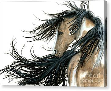 Majestic Horse Series 89 Canvas Print by AmyLyn Bihrle
