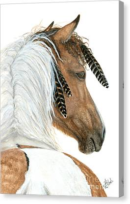 Majestic Horse Series 94 Canvas Print by AmyLyn Bihrle
