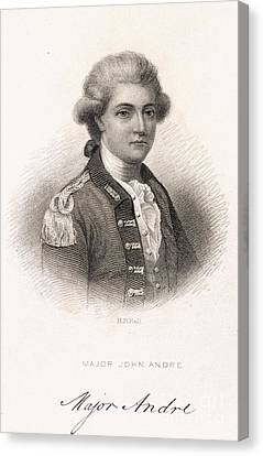 Major John Andre Canvas Print by British Library