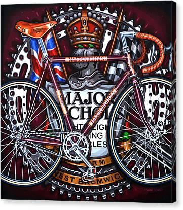 Major Nichols Canvas Print by Mark Howard Jones