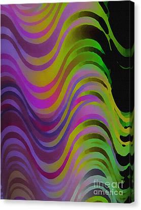 Making Waves Canvas Print by Martin Howard