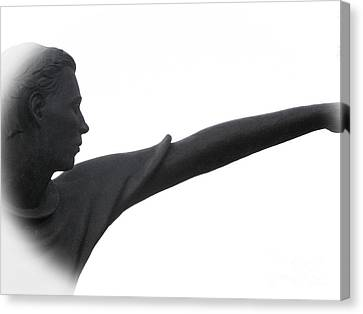 Male Educator Reaching Out Two Canvas Print by Tina M Wenger