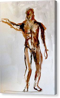 Male Figure Canvas Print by James Gallagher
