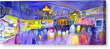 Mama Lenny And The Remedy At Road 34 Canvas Print by David Sockrider