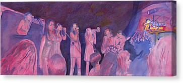 Mama Lenny And The Remedy Canvas Print by David Sockrider