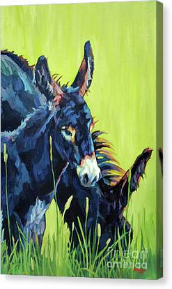 Mamma's Boy Canvas Print by Patricia A Griffin