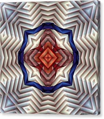 Mandala 11 Canvas Print by Terry Reynoldson