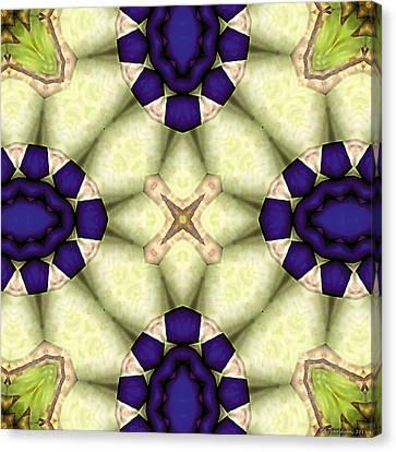 Mandala 115 Canvas Print by Terry Reynoldson