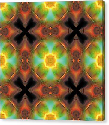 Mandala 135 Canvas Print by Terry Reynoldson