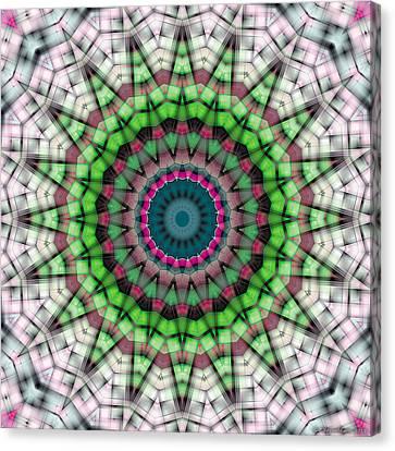 Mandala 26 Canvas Print by Terry Reynoldson