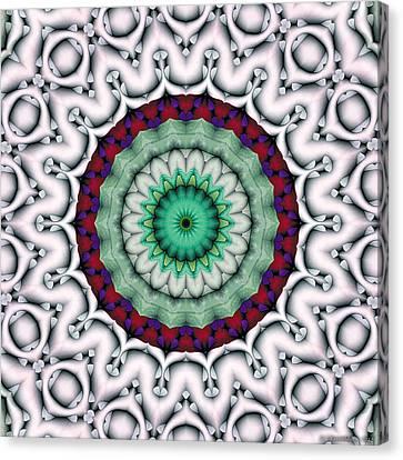 Mandala 9 Canvas Print by Terry Reynoldson