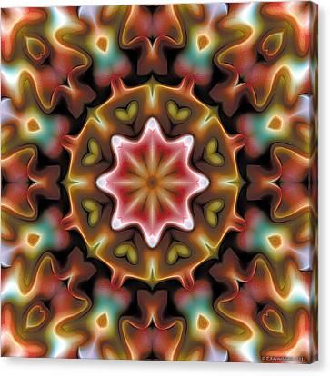Mandala 92 Canvas Print by Terry Reynoldson