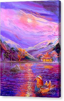 Mandarin Dream Canvas Print by Jane Small