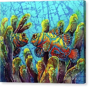 Mandarinfish  Canvas Print by Sue Duda