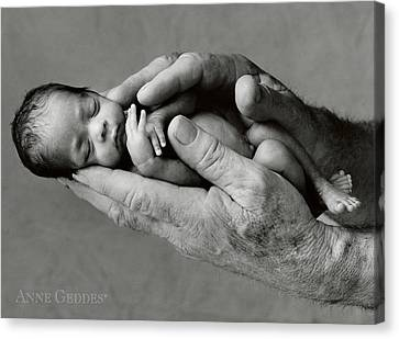 Maneesha And Jack Canvas Print by Anne Geddes