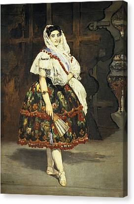 Manet, �douard 1832-1883. Lola De Canvas Print by Everett