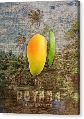 Mango Season Canvas Print by Mark Khan