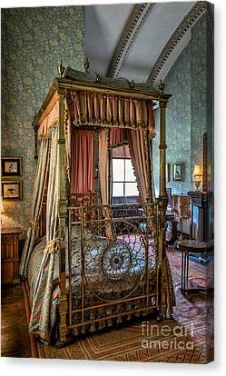 Mansion Bedroom Canvas Print by Adrian Evans