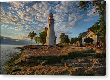 Marblehead Lighthouse Canvas Print by Daniel Behm