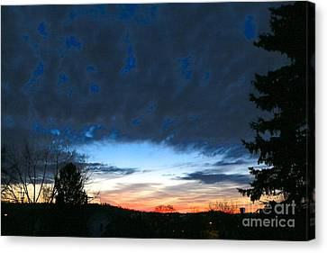 March 19th Canvas Print by Jay Nodianos