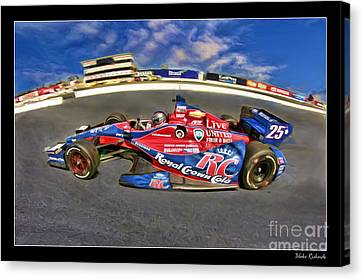 Marco Andretti Canvas Print by Blake Richards