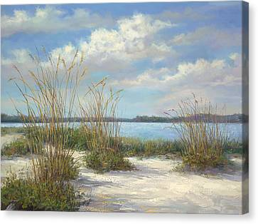 Marco Island Canvas Print by Laurie Hein