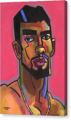 Marco With Gold Chain Canvas Print by Douglas Simonson