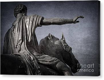 Marcus Aurelius - Rome  Canvas Print by Rod McLean