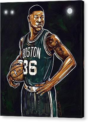 Marcus Smart Canvas Print by Dave Olsen