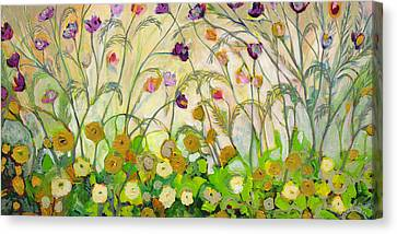Mardi Gras Canvas Print by Jennifer Lommers