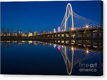 Margaret Hunt Hill Bridge Canvas Print by Inge Johnsson