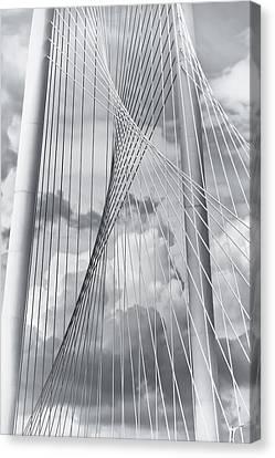 Margaret Hunt Hill Bridge Canvas Print by Joan Carroll