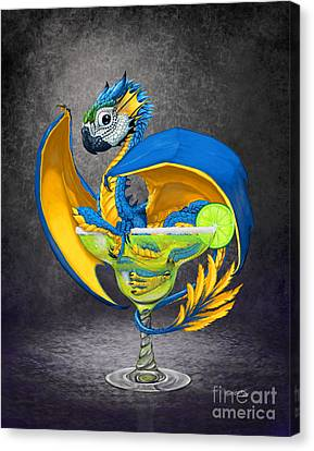 Margarita Dragon Canvas Print by Stanley Morrison
