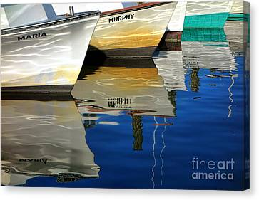 Maria And Murphy Canvas Print by Olivier Le Queinec