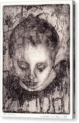 Maria Canvas Print by Gun Legler