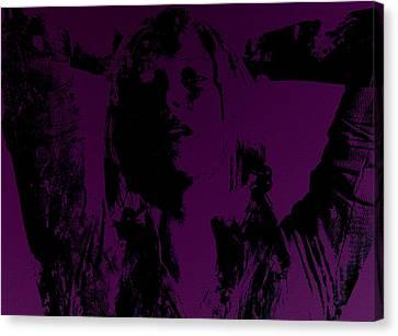 Maria Sharapova Feeling It Canvas Print by Brian Reaves