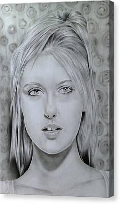 Maria Sharapova Canvas Print by Kamanita Klinjuy