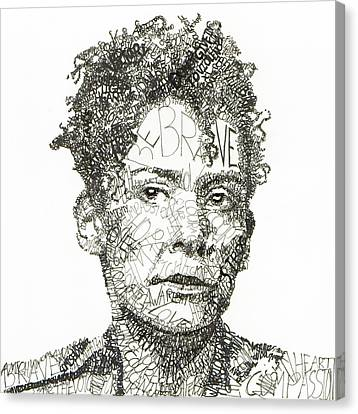 Marianne Pearl Canvas Print by Michael  Volpicelli