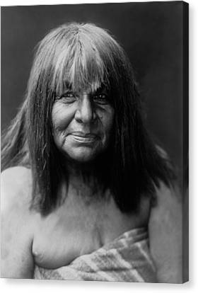 Maricopa Indian Women Circa 1907 Canvas Print by Aged Pixel