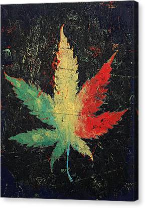 Marijuana Canvas Print by Michael Creese