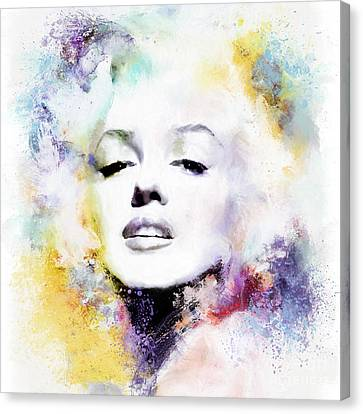 Marilyn American Beauty Canvas Print by Shanina Conway