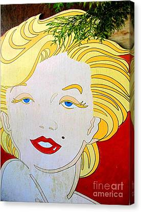 Marilyn Canvas Print by Ethna Gillespie