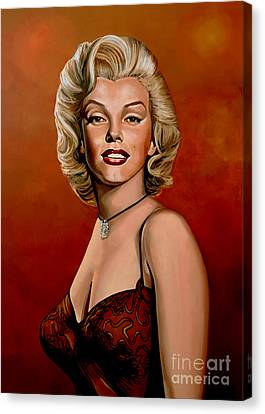 Marilyn Monroe 6 Canvas Print by Paul Meijering