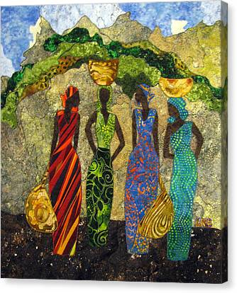 Market Day #1 Canvas Print by Lynda K Boardman