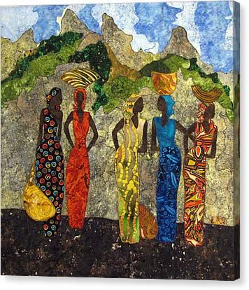 Market Day #2 Canvas Print by Lynda K Boardman