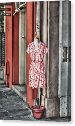 Market Fashion Canvas Print by Brenda Bryant