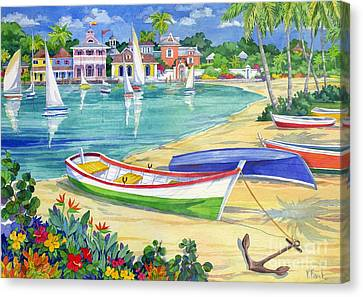 Market Street Harbor Canvas Print by Paul Brent