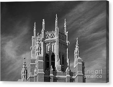 Marquette University Marquette Hall Canvas Print by University Icons