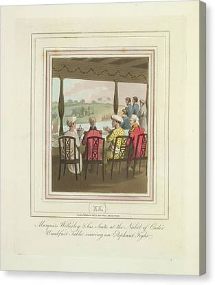 Marquis Wellesley Canvas Print by British Library